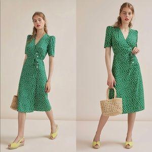 Rouje Gabin Dress in heart print